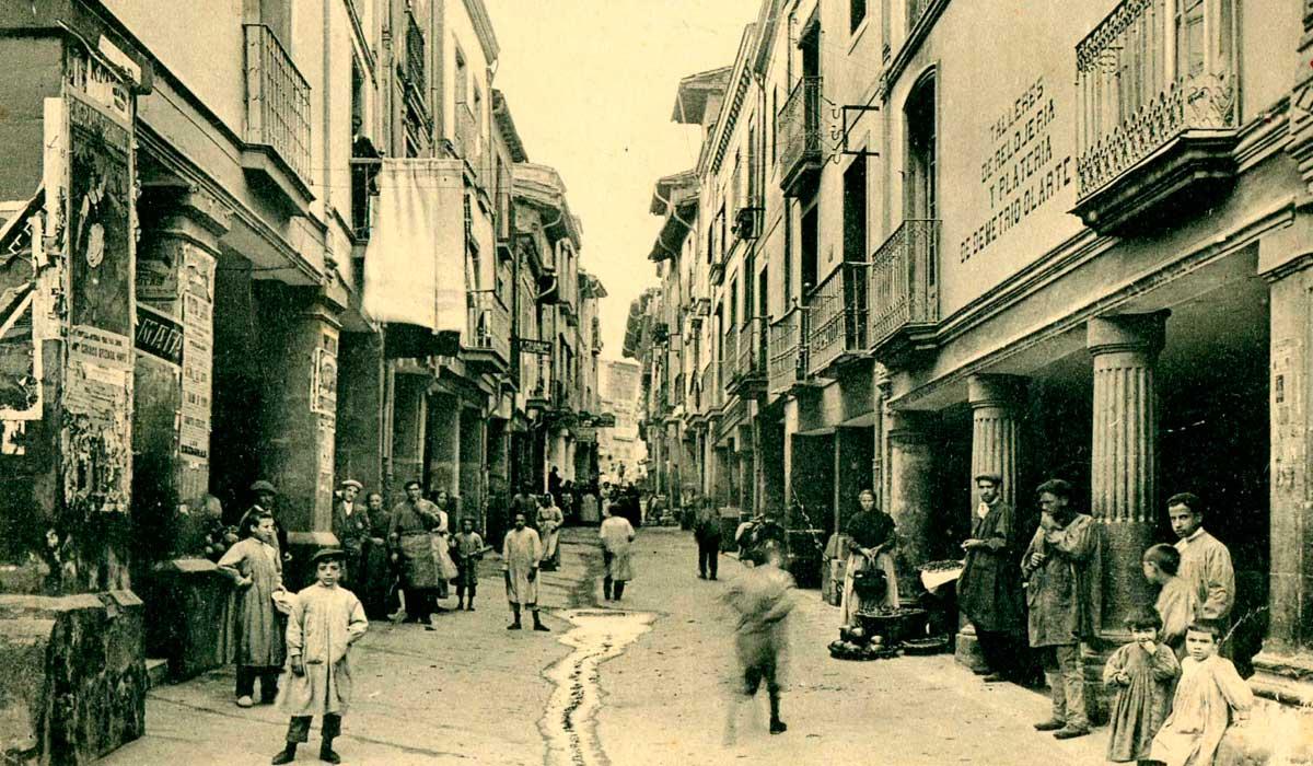 Calle del Arrabal de Haro