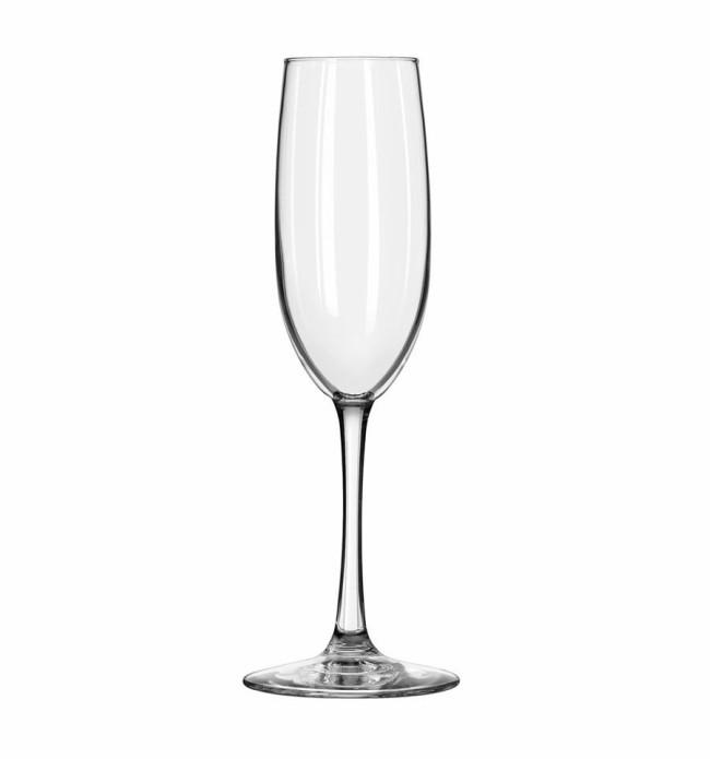 copa de vino tipo aflautada