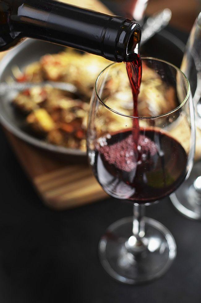 maridaje con vinos tintos