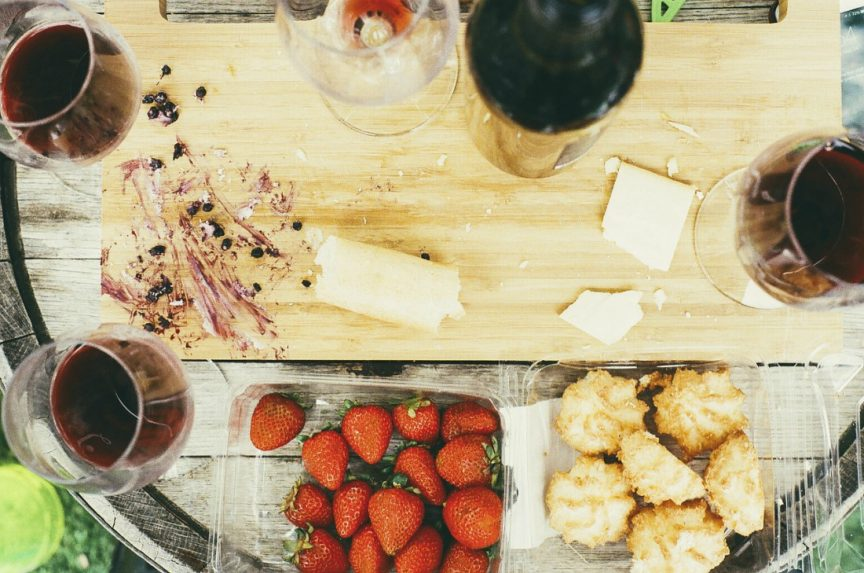 Tipos de vino tinto para maridaje