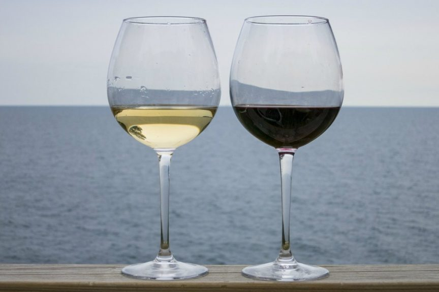 Vino blanco pescado vino tinto carne