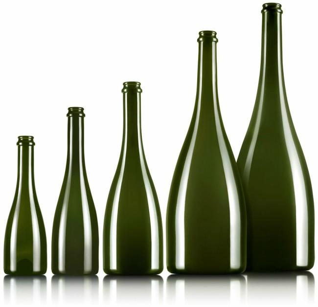 Tipo botella cava o Champagne