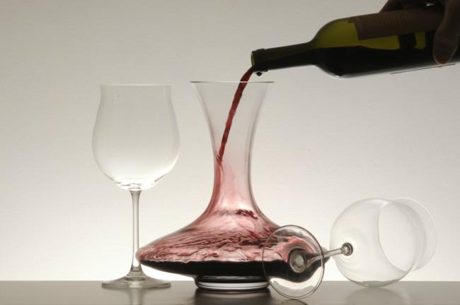 Decantador de vino