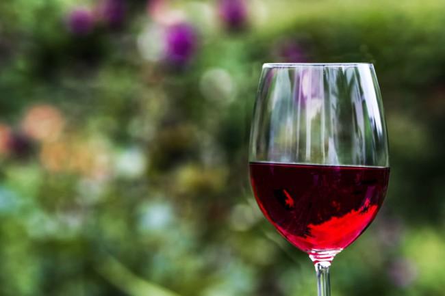 Calorías de una copa de vino