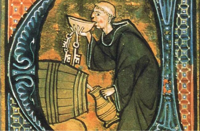 El vino en la Edad Media