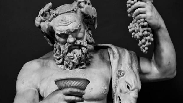 Baco, dios del vino en la Antigua Roma