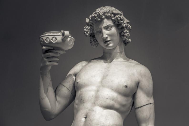 Dionisio, el dios griego del vino
