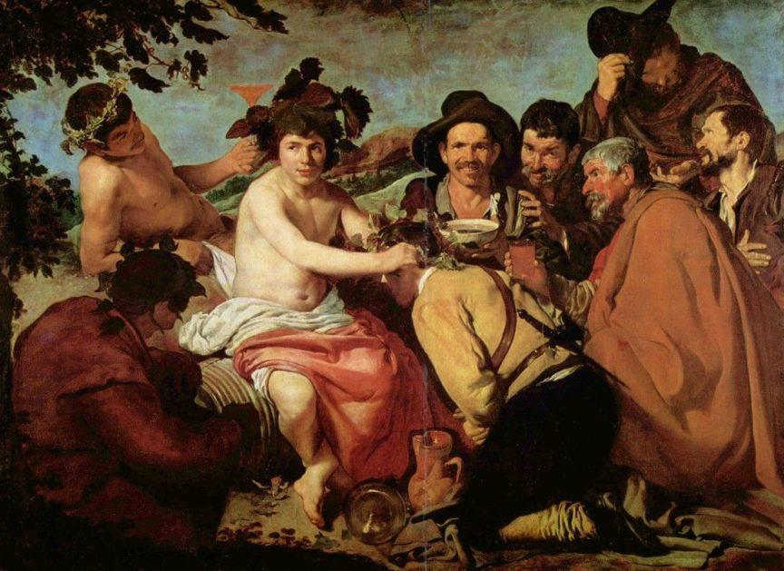 El peso del vino en la mitología