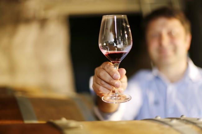 El retrogusto en la cata de vino