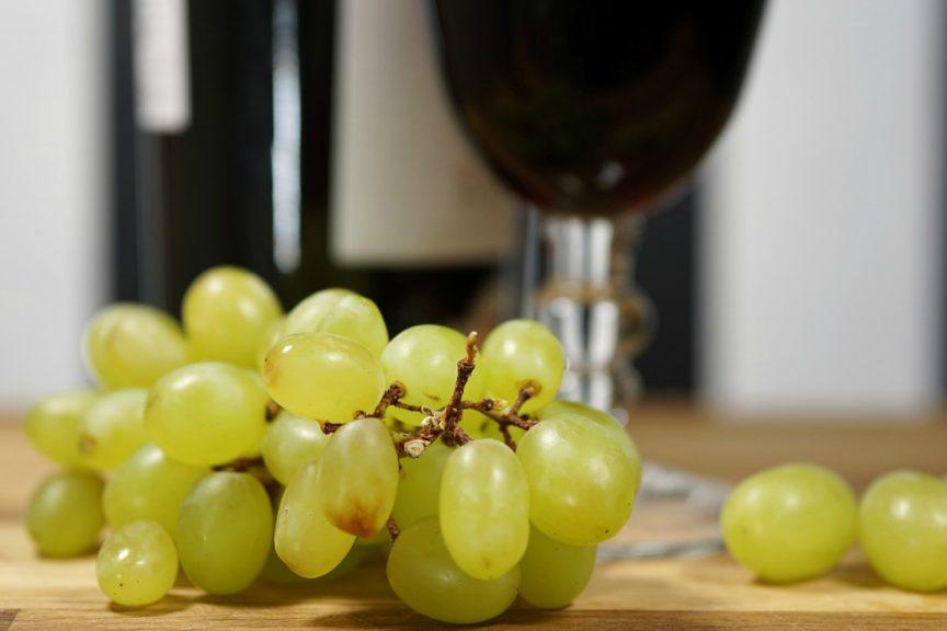 Los sabores de fruta en el vino