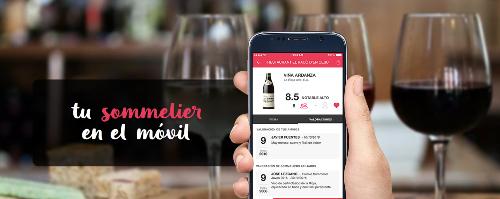 App gratuita para elegir vino ViWine