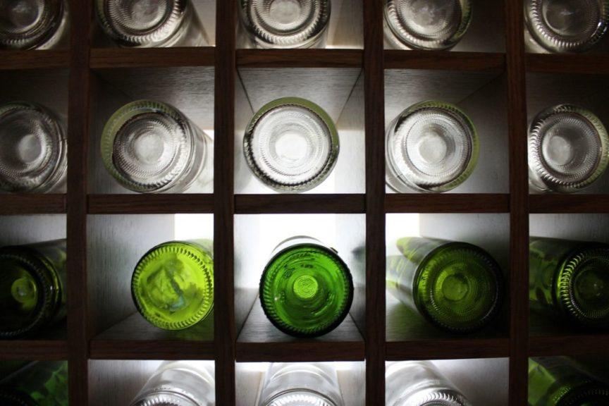 Los distintos tamaños de las botellas de vino