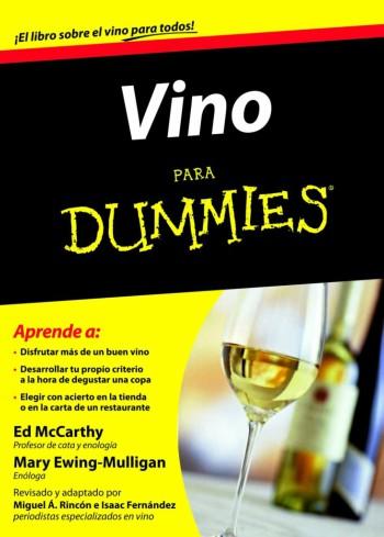 Libro sobre vino Vino para dummies
