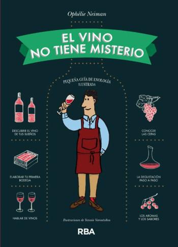Libro sobre vino El vino no tiene misterio