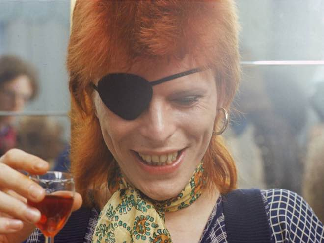 El vino y David Bowie