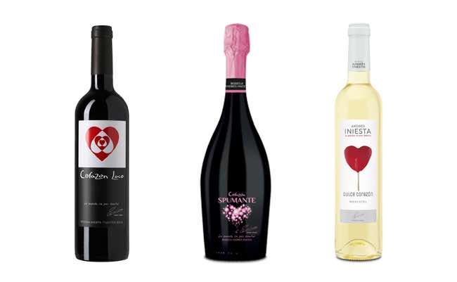 Vinos de Andrés Iniesta, uno de los famosos españoles que producen vino