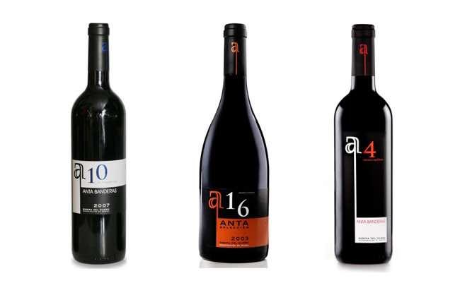 Antonio Banderas, , uno de los famosos españoles que producen vino
