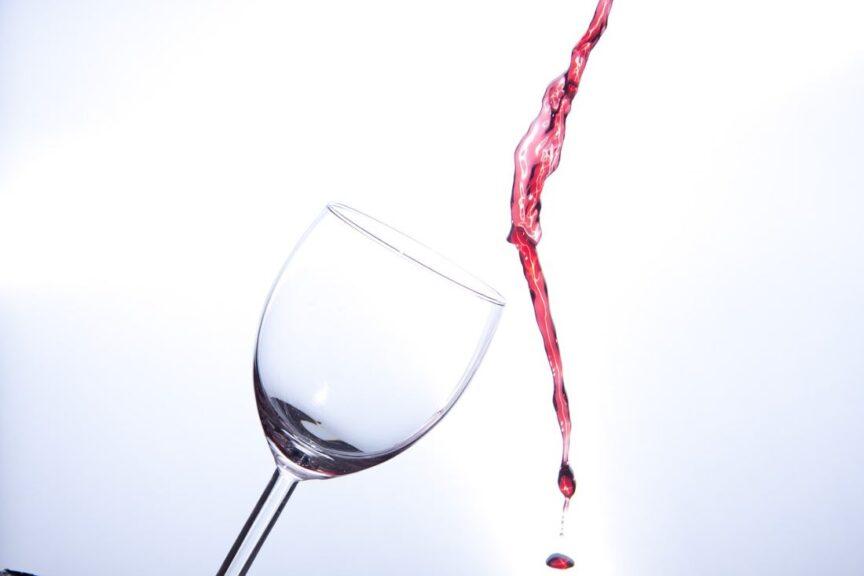 ¿Hasta dónde conviene llenar la copa de vino?