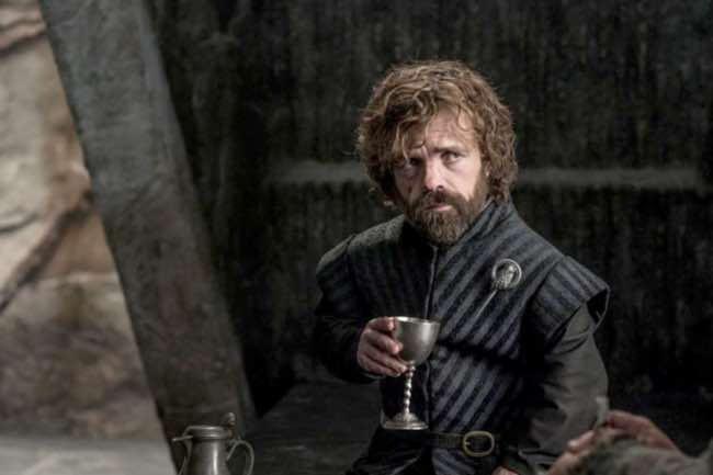 Tyrion Lannister, amante del vino en Juego de Tronos