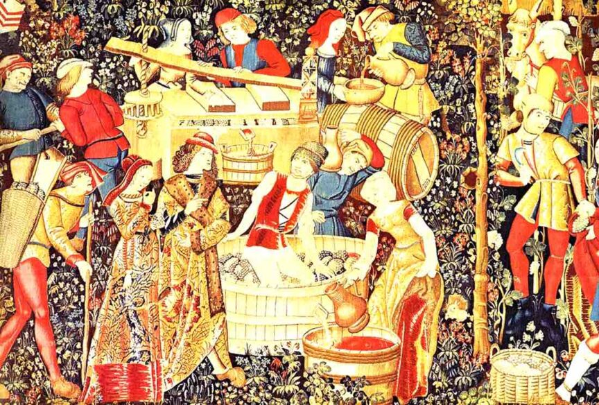 La importancia del vino en la Edad Media