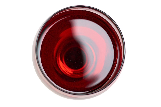 El volumen de alcohol en el vino
