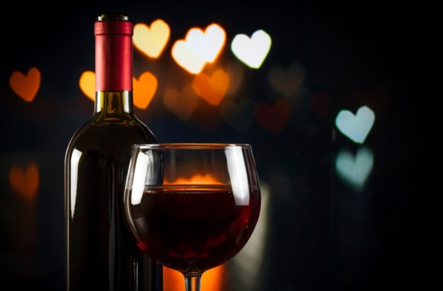 Vino para San Valentín, un regalo para disfrutar en parejas